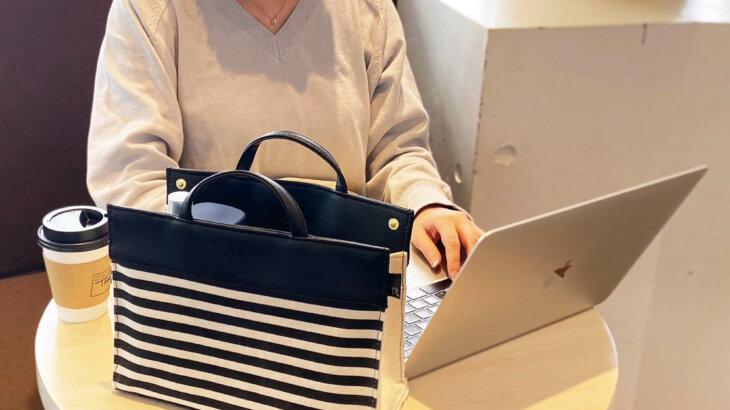 「リモート」+「持っていって」=「Remo-te(リモッテ)」リモートワークやテレワークの日常を快適にするバッグインバッグ