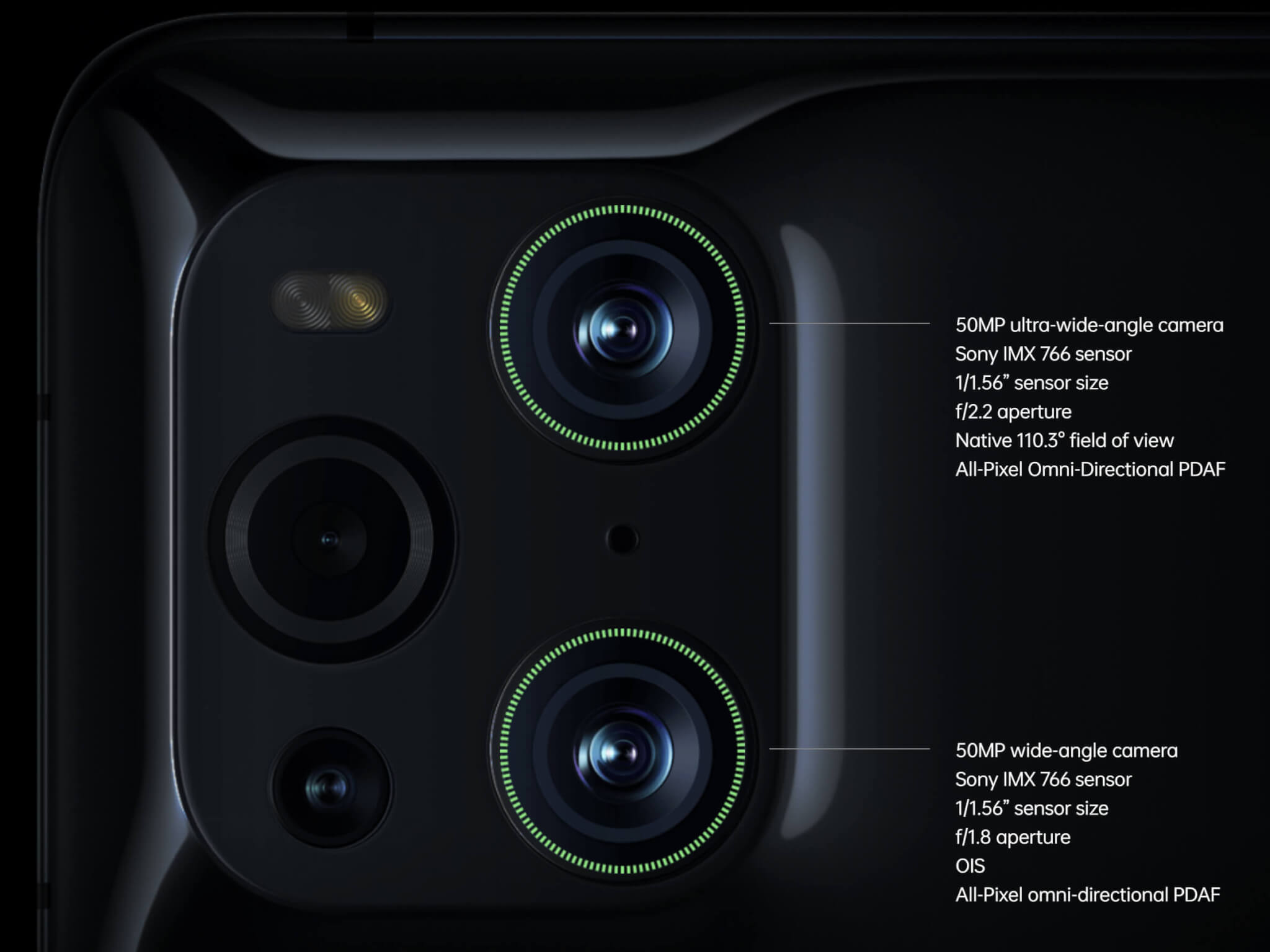 「OPPO Find X3 Pro」が搭載するIMX766センサーはソニーとの共同開発