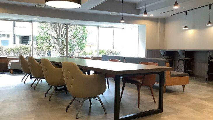 法人向けプレミアムレジデンス「エルプレイス三田」- 2020年型の会社寮。在宅勤務に最適な食堂兼コワーキングスペースを完備